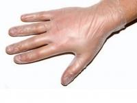 Перчатки смотровые виниловые (без пудры) REF: VFG S