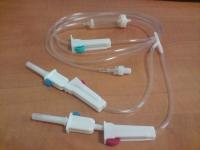 Системы для переливания инфузионных растворов 2х ходовая