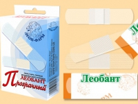 Лейкопластырь Леобант прозрачный №20