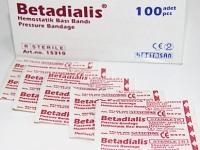 Пластырь Betadialis 92 х 38 мм №50