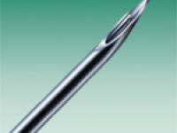 Атраукан - 26G игла со специальным срезом, размер 0,47 х 25 мм, коричневый