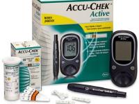 Глюкометр  Accu-Chek Active (2+1)
