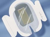 Наклейка для фиксации катетеров с хлоргексидина глюконатом 10х15,5